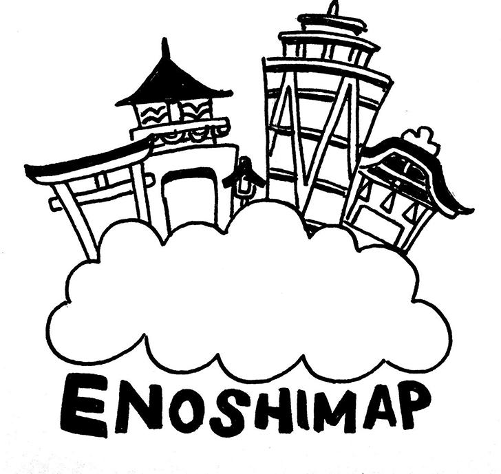 江ノシマップ イラストレーター コウシュウマサル