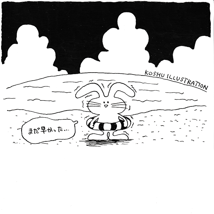 ウサギ イラストレーター コウシュウマサル