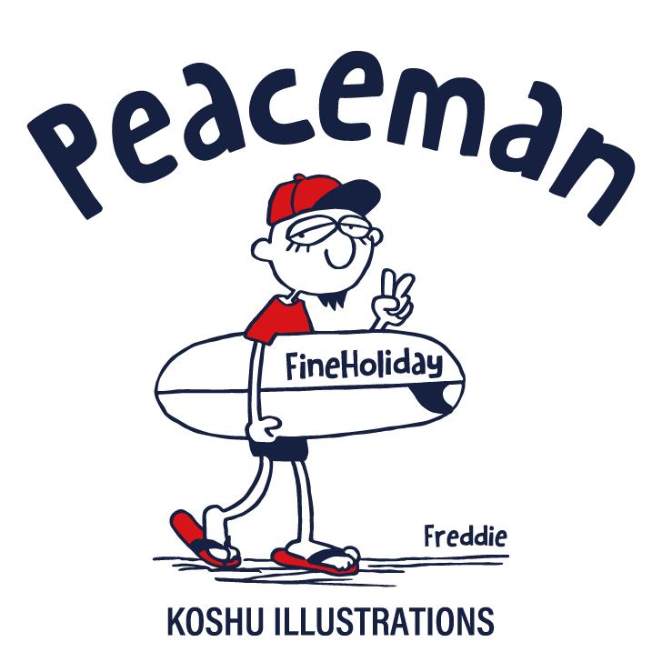 ピースマン peaceman イラストレーターコウシュウマサル