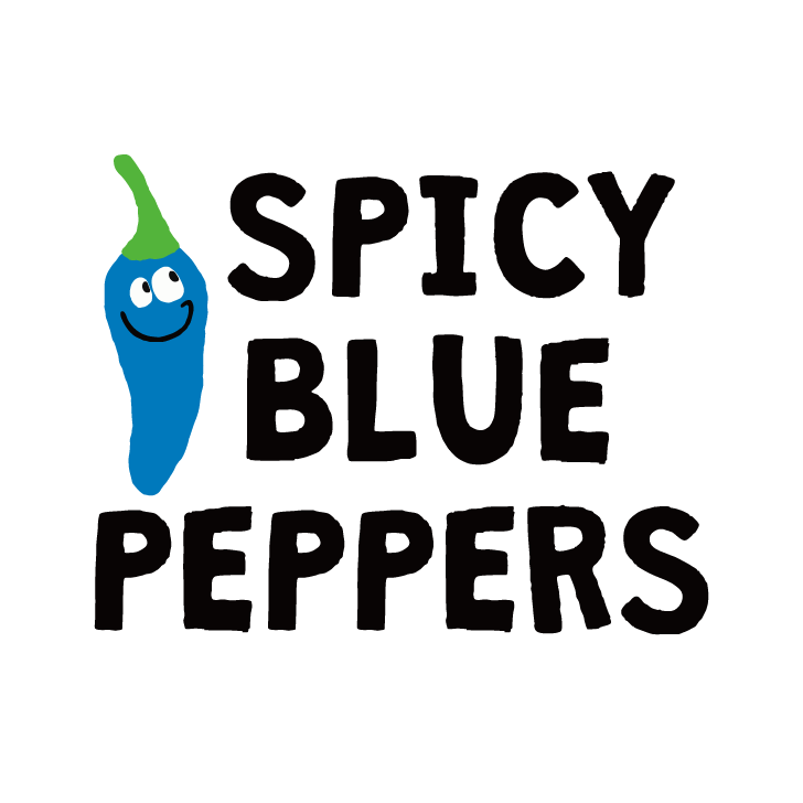 SPICY BLUE PEPPERS